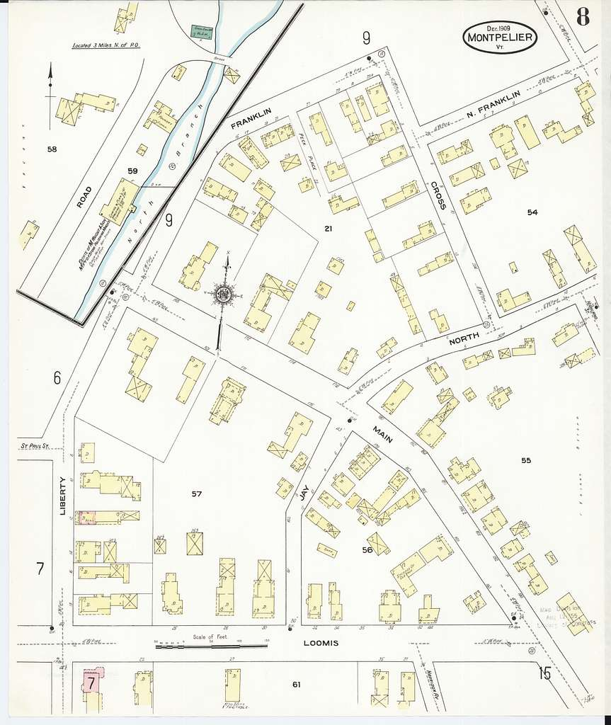 Sanborn Fire Insurance Map from Montpelier, Washington ...
