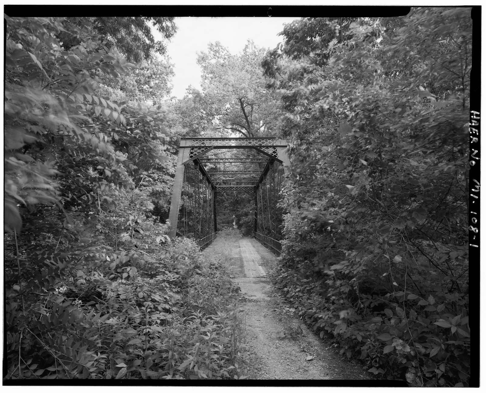 Scott Highway Bridge, Spanning Black Creek, Blissfield, Lenawee County, MI