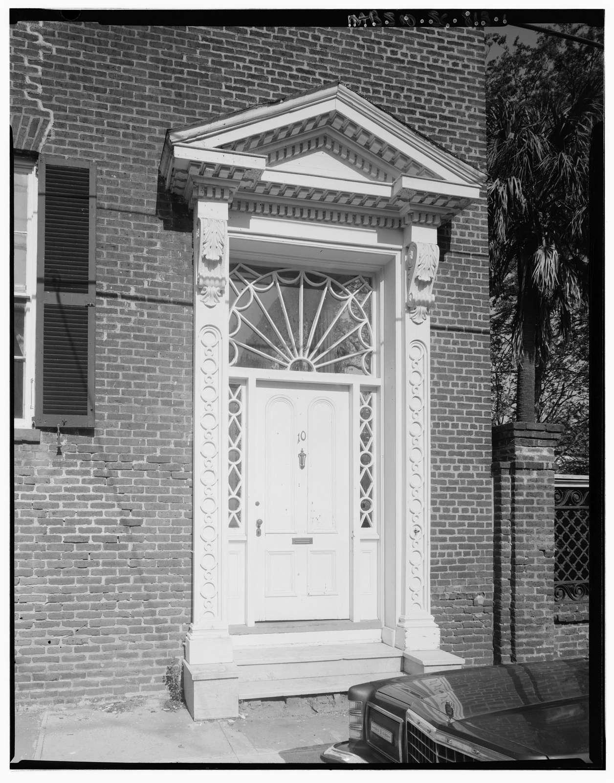10 Limehouse Street (house), Charleston, Charleston County, SC