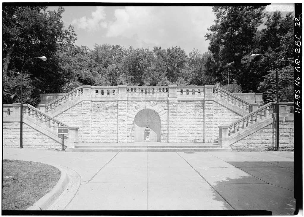 Bathhouse Row, Maurice Bathhouse, Central Avenue, Hot Springs, Garland County, AR