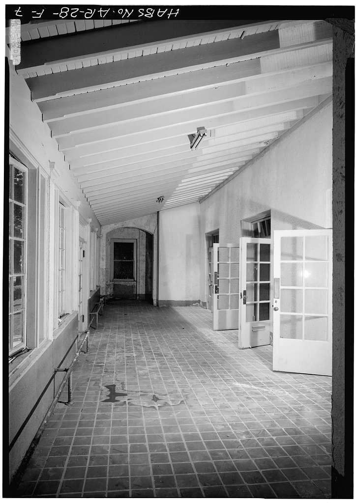 Bathhouse Row, Ozark Bathhouse, Central Avenue, Hot Springs, Garland County, AR
