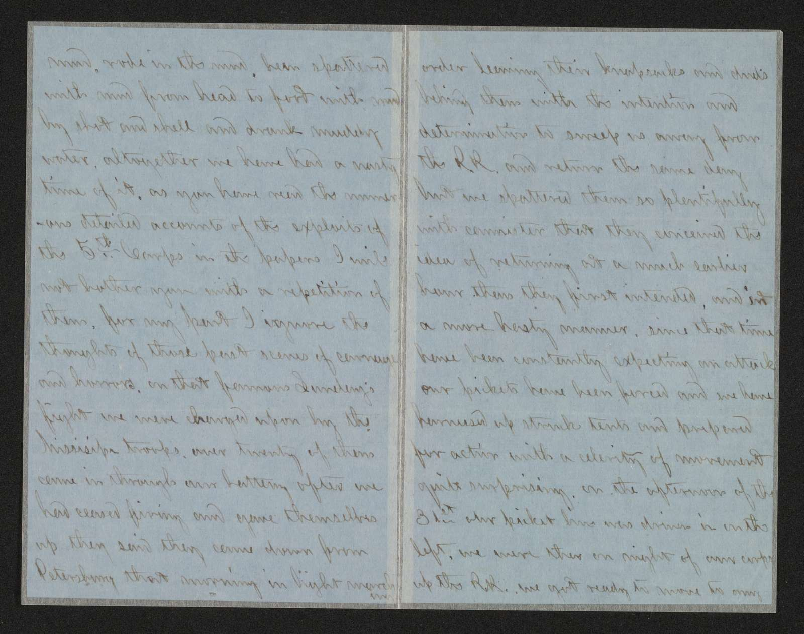 Charles Wellington Reed Papers: Correspondence; 1864; Aug.-Dec.