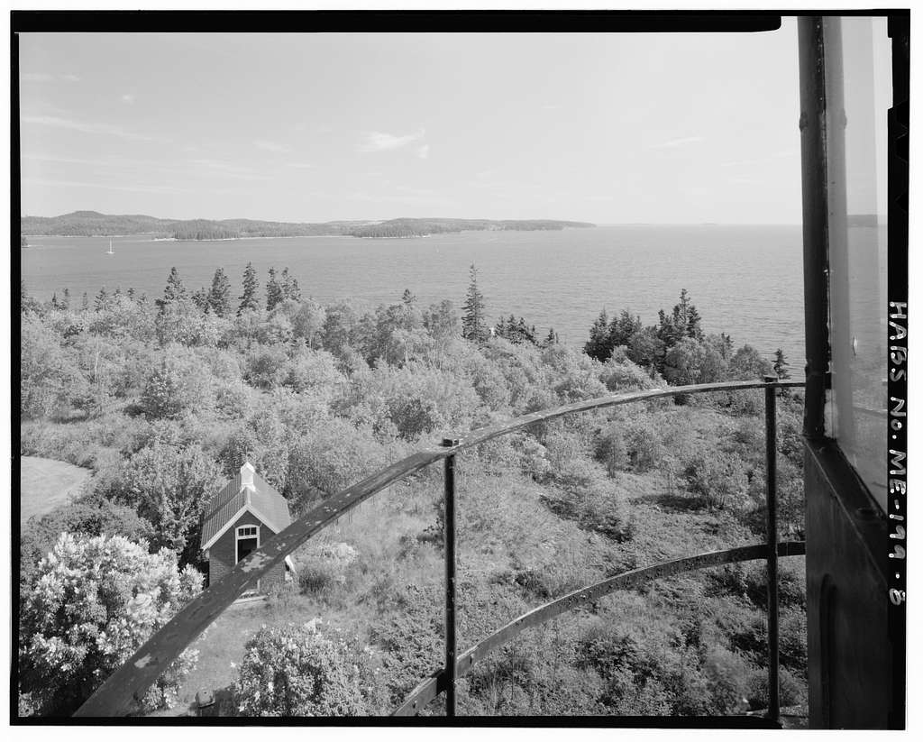 Dice's Head Light Station, Southwest end of Water Street, Castine, Hancock County, ME