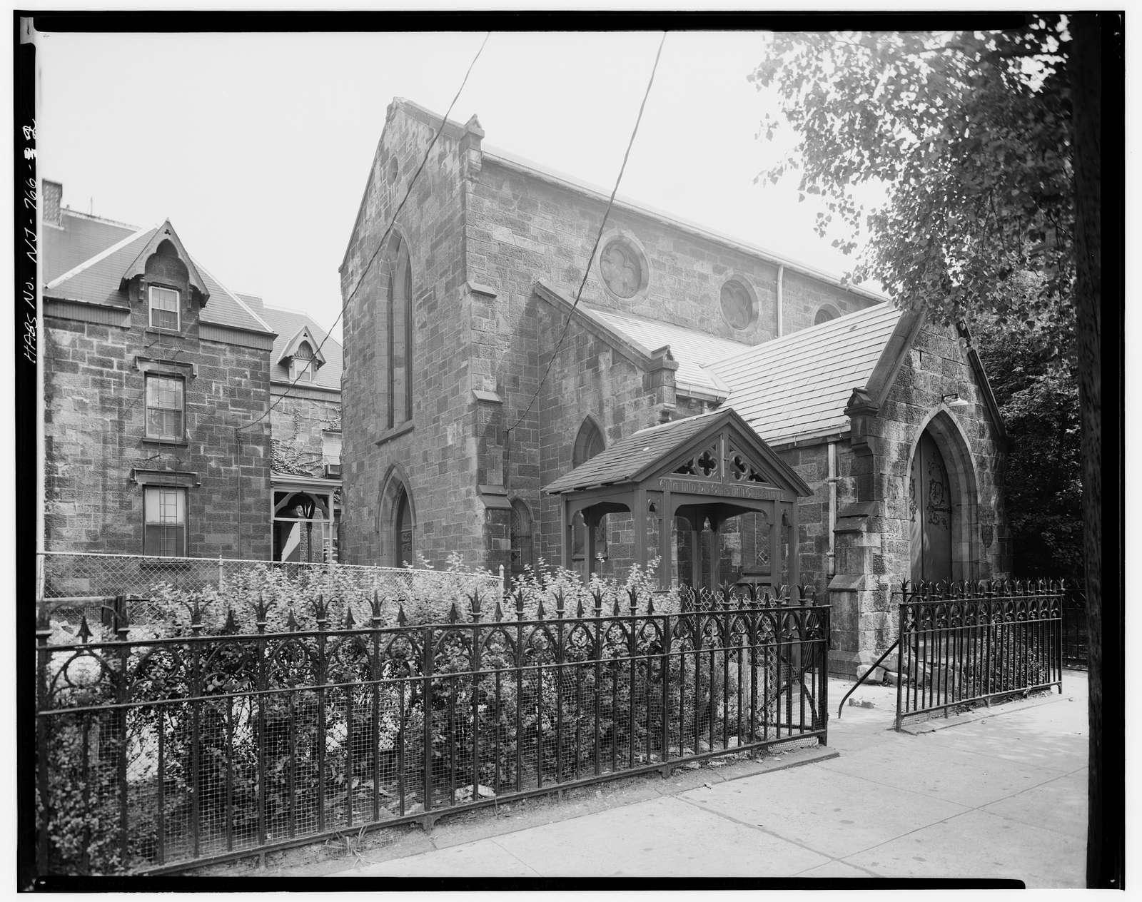 Grace Episcopal Church, Second & Erie Streets, Jersey City, Hudson County, NJ