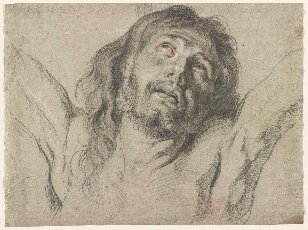 [Head of Christ on the cross]