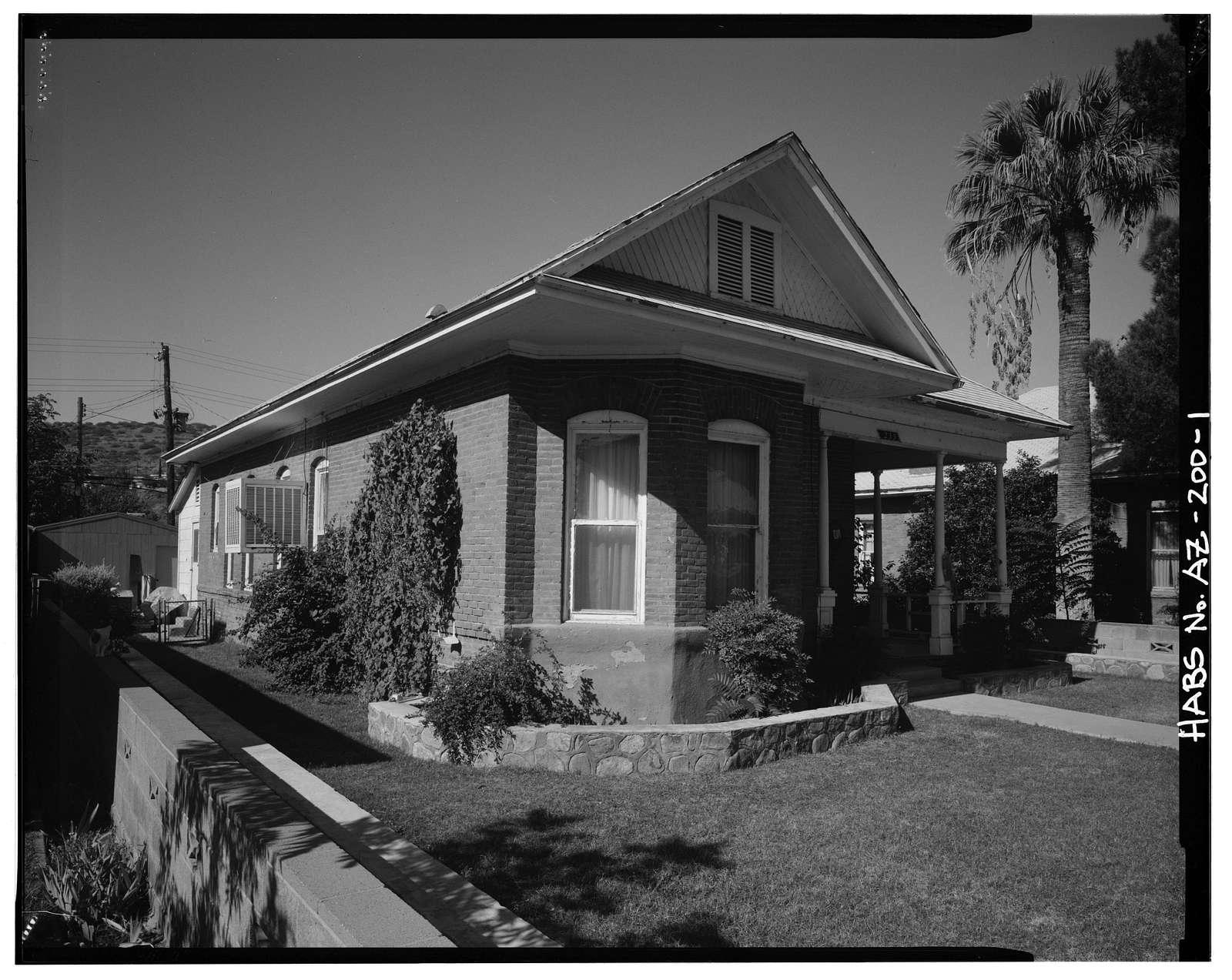 Henry H. Hill Rental House, 235 Coronado Boulevard, Clifton, Greenlee County, AZ