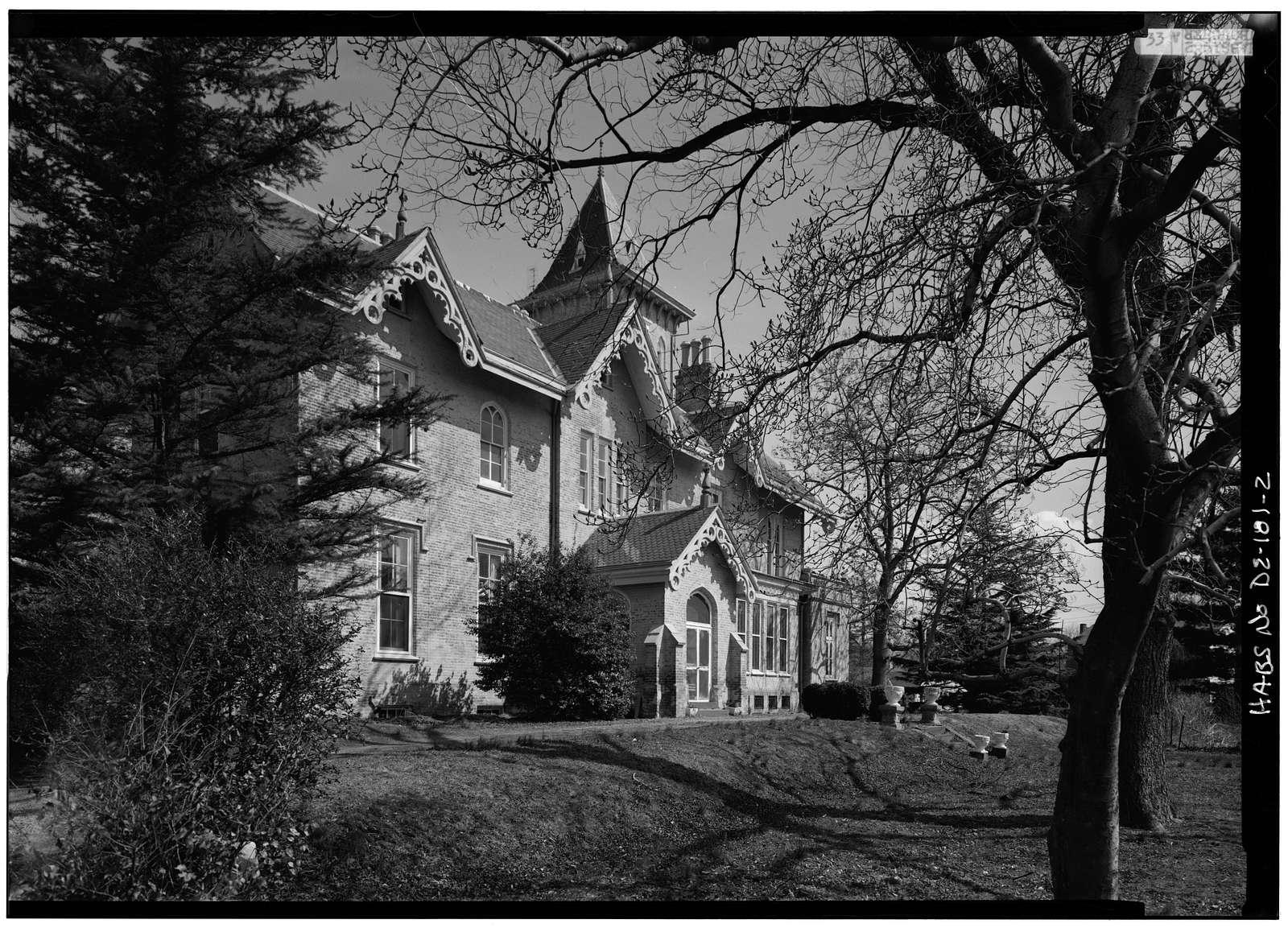 Lesley-Travers Mansion, 112 West Sixth Street, New Castle, New Castle County, DE