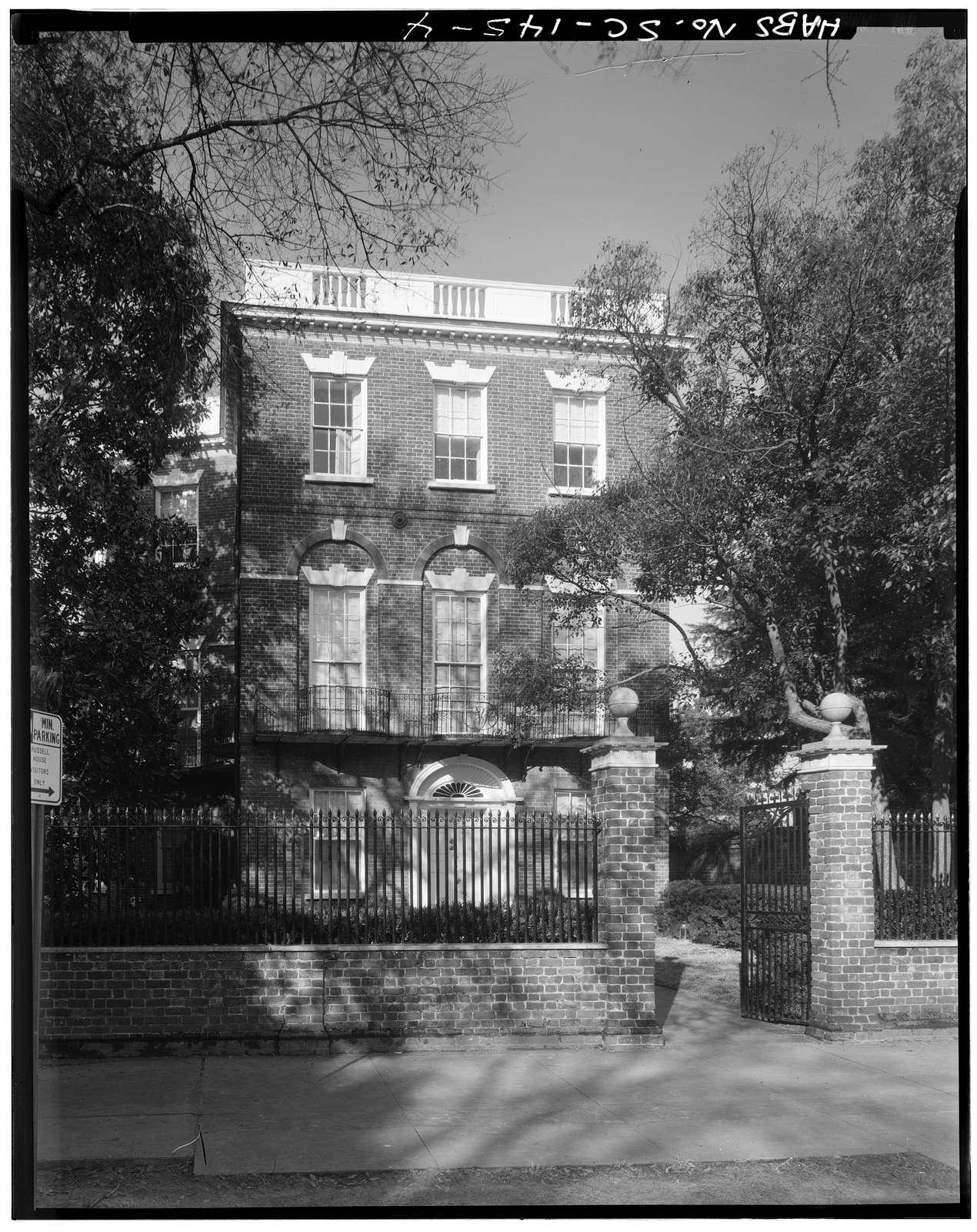 Nathaniel Russell House, 51 Meeting Street, Charleston, Charleston County, SC