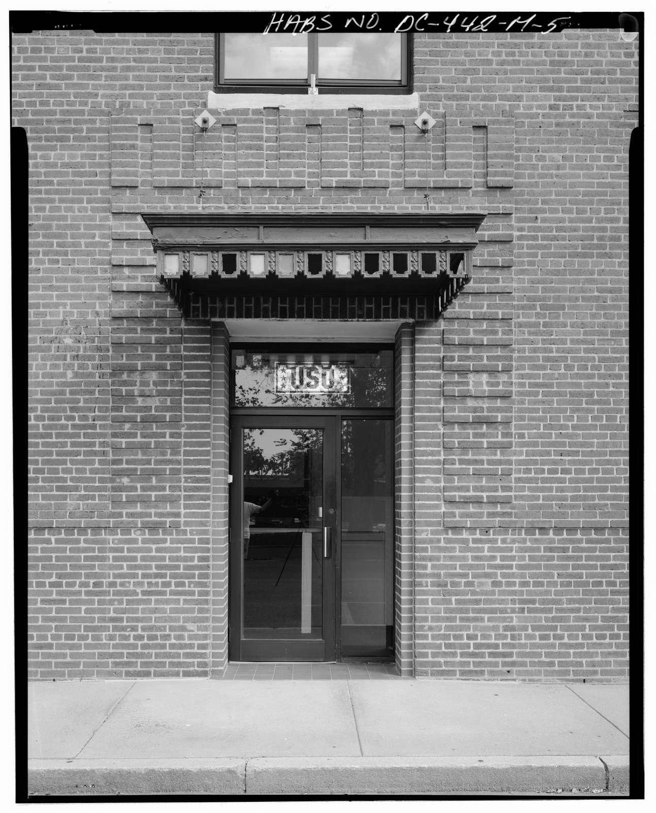 Navy Yard, Building No. 198, Corner of Sicard Street & Isaac Hull Avenue, Washington, District of Columbia, DC