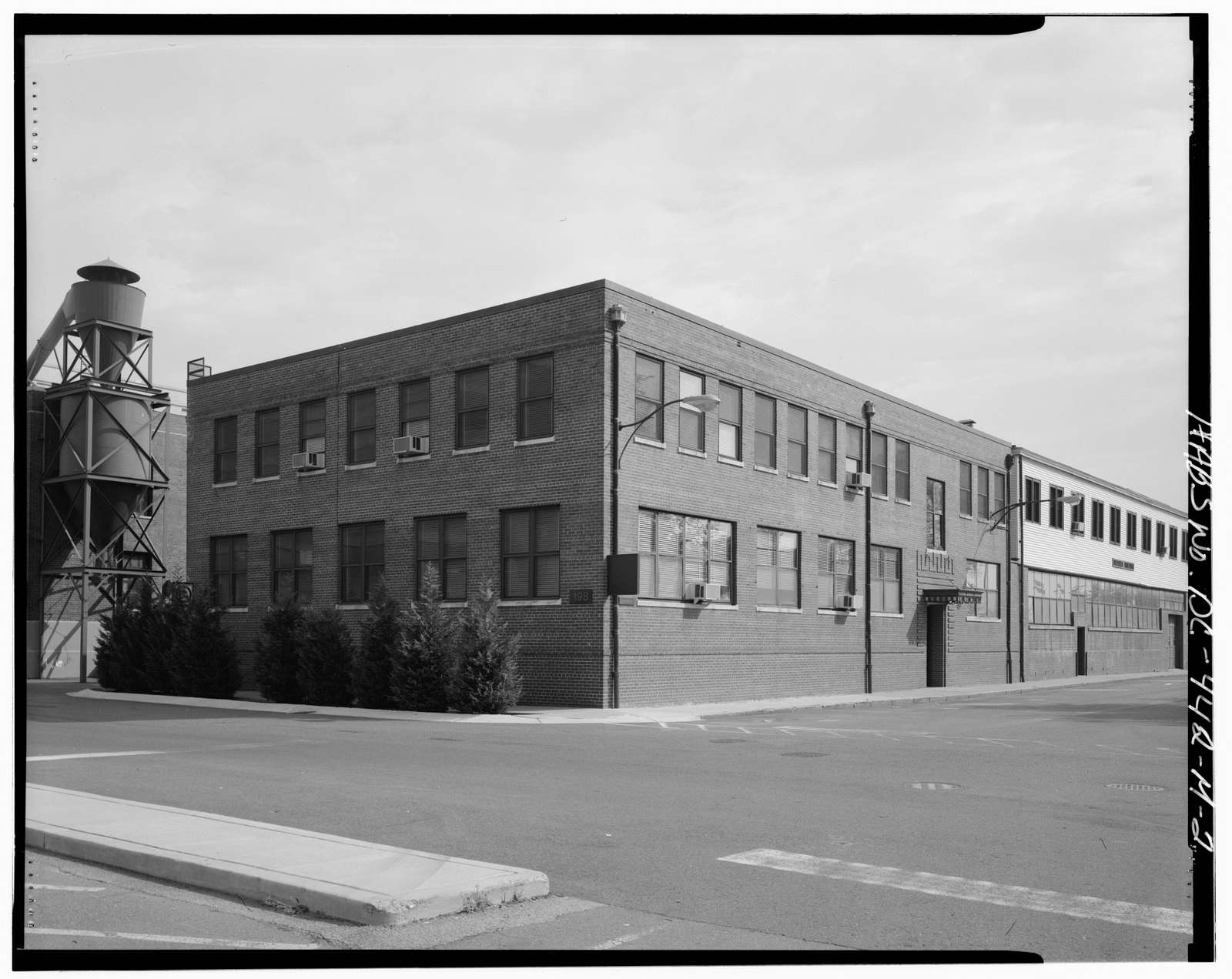 Navy Yard, Building No. 198, Corner of Sicard Street & Isaac Hull Avenue, Washington, District of Columbia, DC
