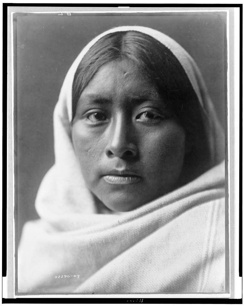 Papago Luzi Edward Curtis Native American Photo