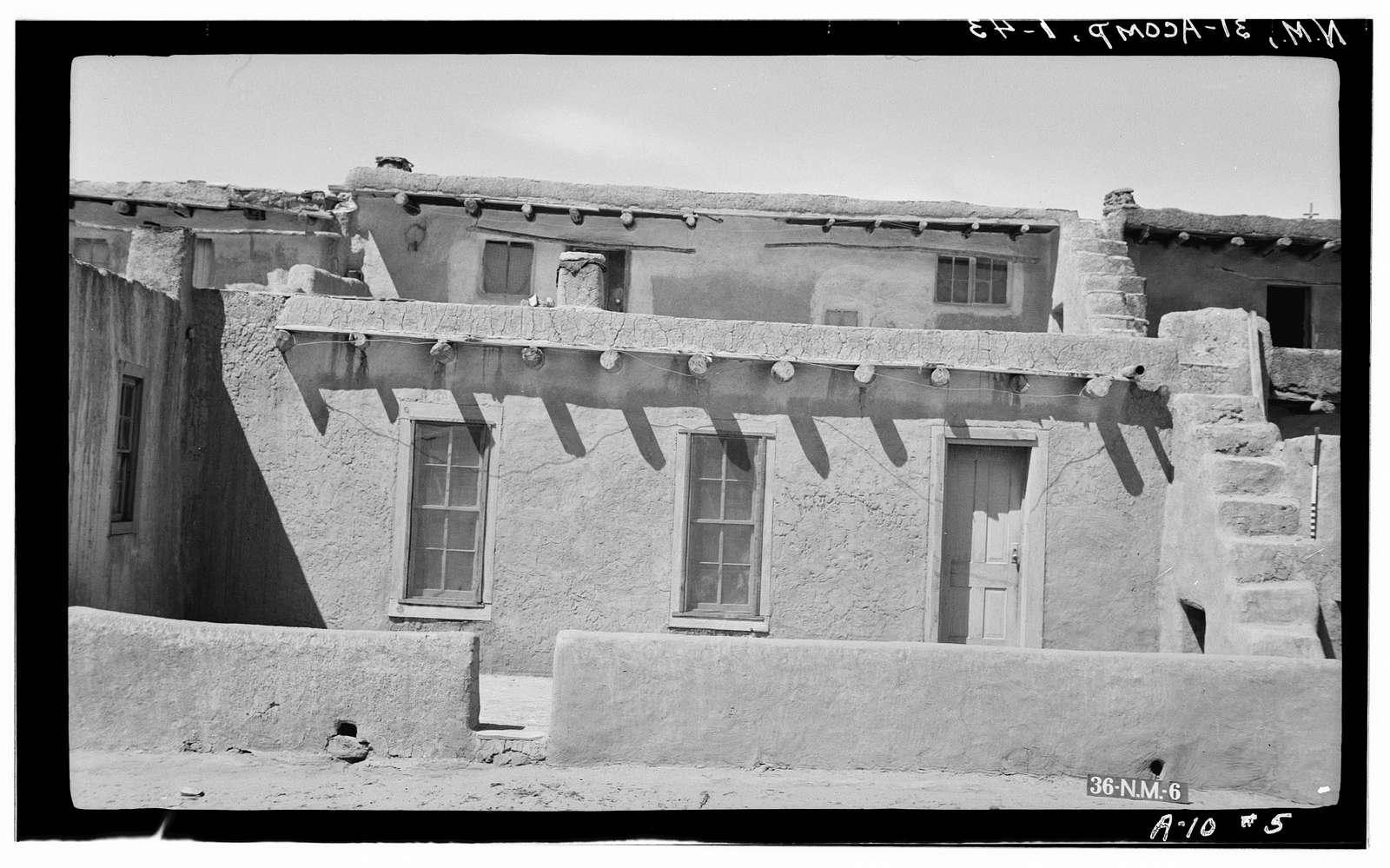 Pueblo of Acoma, Casa Blanca vicinity, Acoma Pueblo, Cibola County, NM