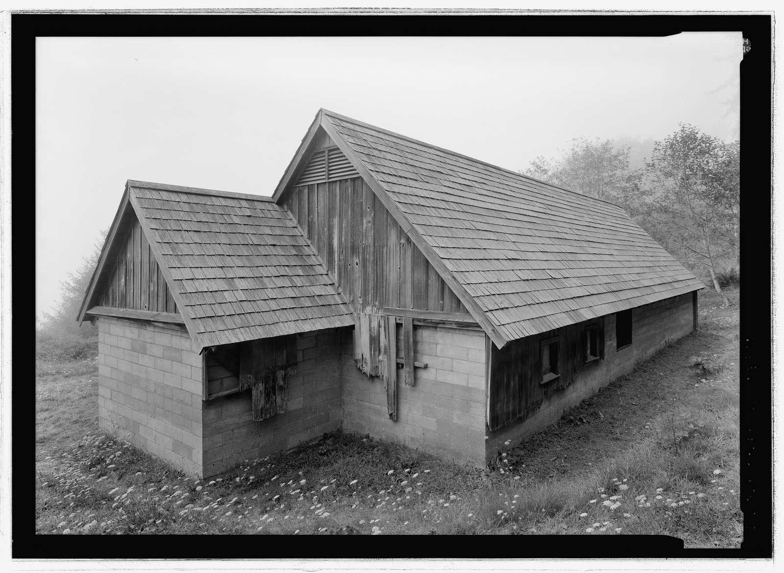 Radar Station B-71, Operations Building, Coastal Drive, Klamath, Del Norte County, CA