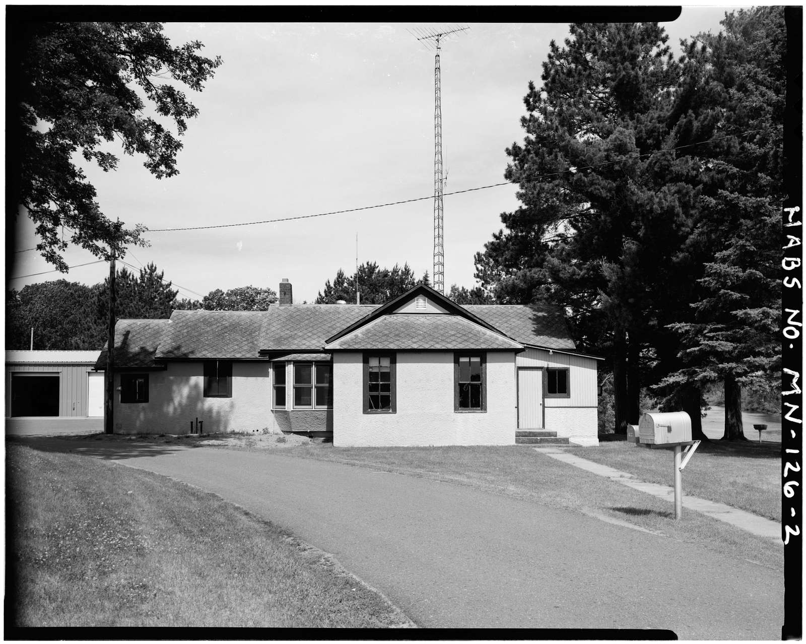 Sandy Lake Dam, Tender's Residence, Junction of Mississippi & Sandy Rivers, Libby, Aitkin County, MN