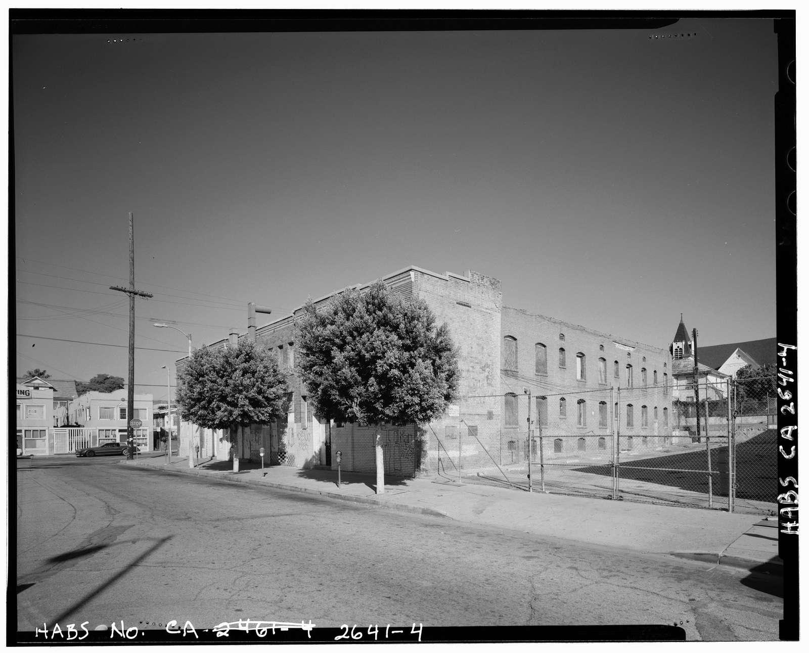 Schwartz Bath House, 2201-2207 East First Street, Los Angeles, Los Angeles County, CA