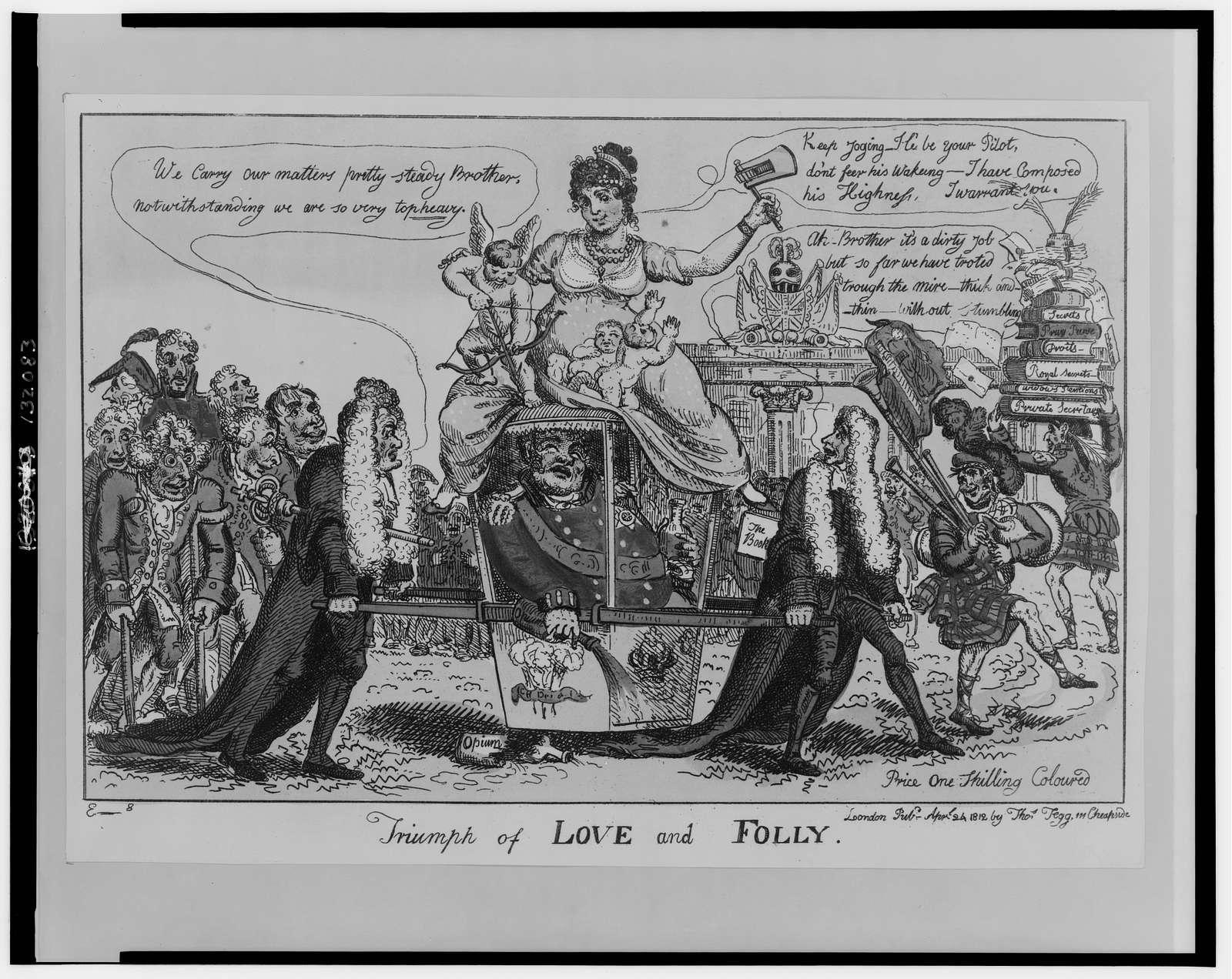 Triumph of love and folly / E--s [Elmes].