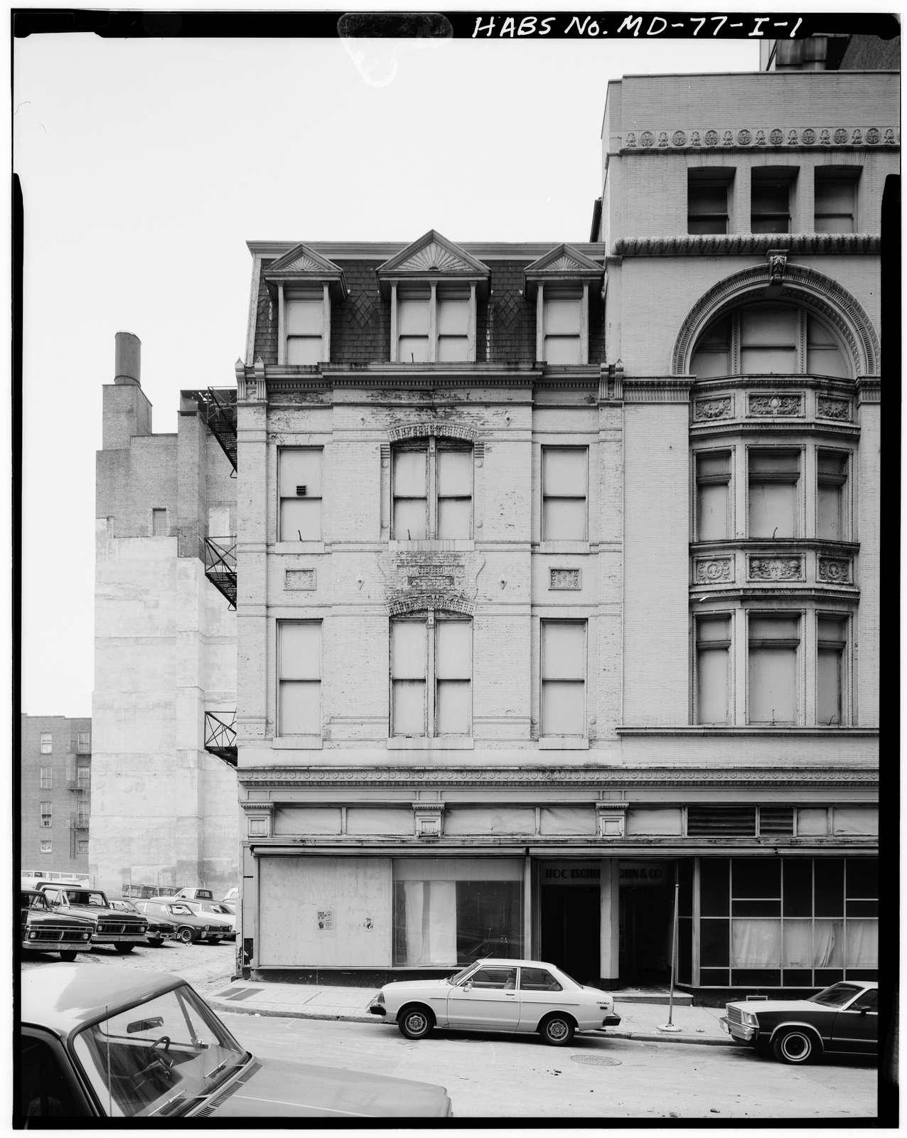 West Lexington Street, Number 310 (Commercial Building), 310 West Lexington Street, Baltimore, Independent City, MD