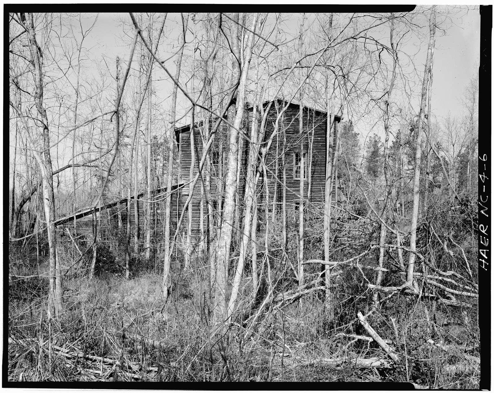 Coggins Gold Mine, Rich-Cog Mining Company, Eldorado, Montgomery County, NC