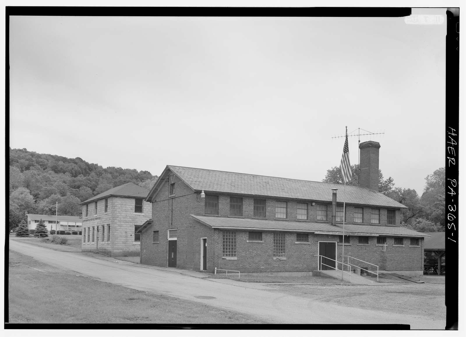 Colonial Mines Bathhouse, Smock, Fayette County, PA