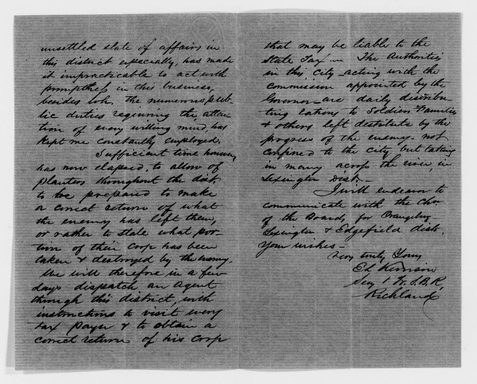 Confederate States of America records: Microfilm Reel 70