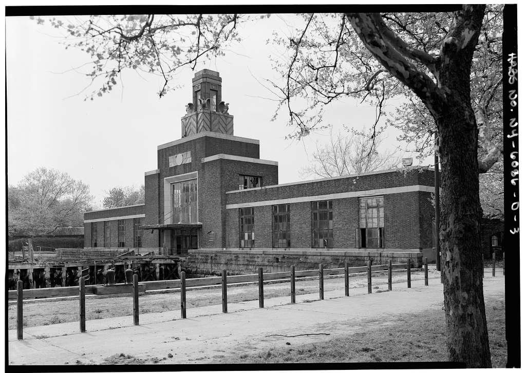 Ellis Island, Ferry Building, New York Harbor, New York, New York County, NY