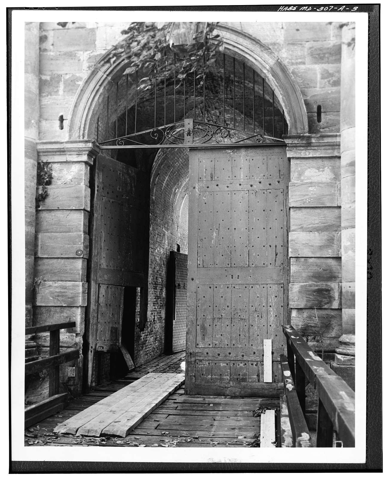 Fort Washington, Main Gate, Fort Washington Road, Fort Washington Forest, Prince George's County, MD