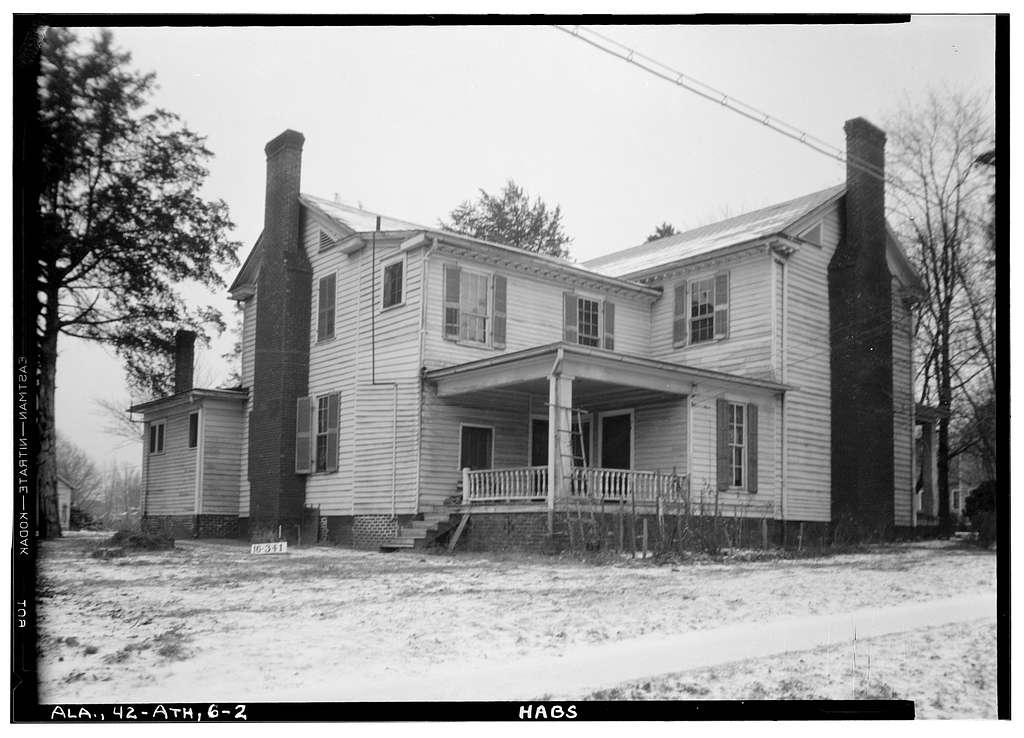Governor George S. Houston House, 101 Houston Street, Athens, Limestone County, AL