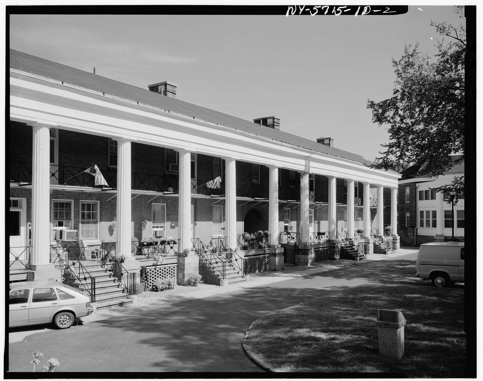 Governors Island, Fort Columbus, Building No. 214, New York Harbor, New York, New York County, NY