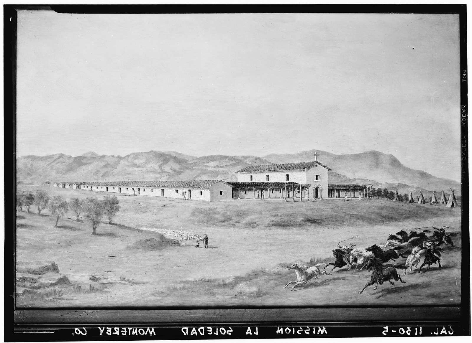 Mission Nuestra Senora de la Soledad, Soledad, Monterey County, CA