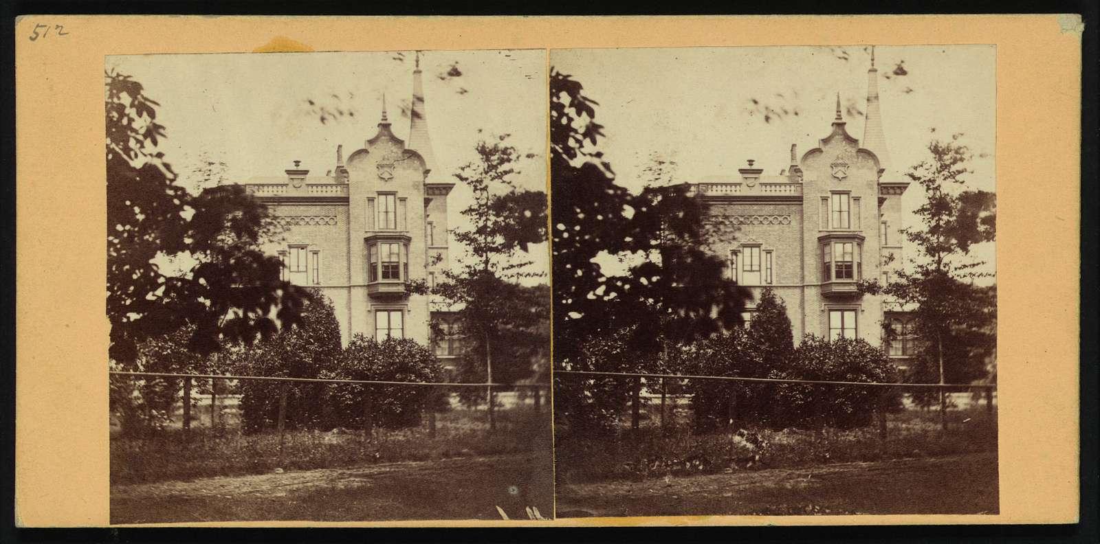Residence(?) of Gen. Kearney(?) near Newark, N.J.