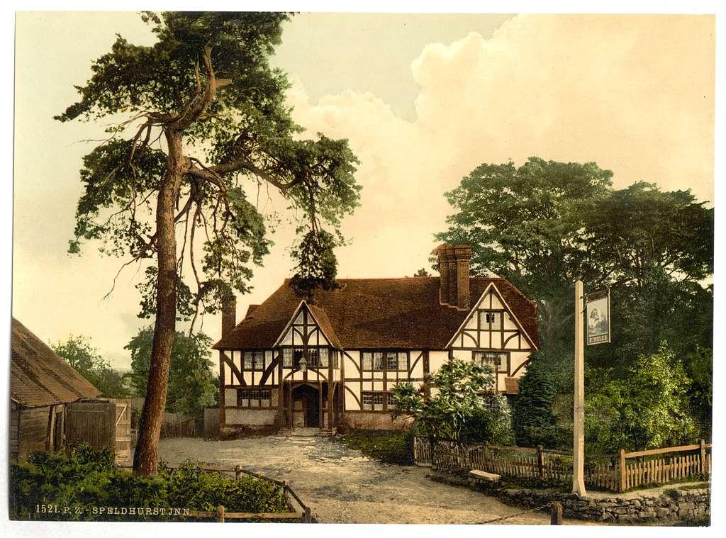 [Speldhurst Inn, Tunbridge Wells, England]