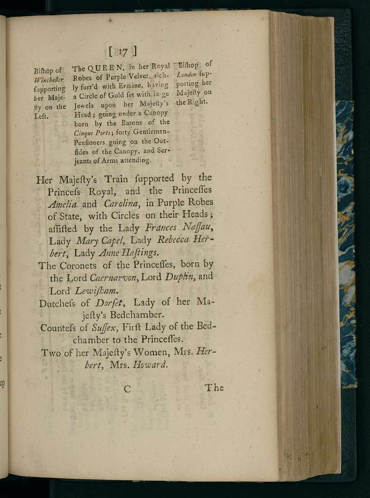 A Particular account of the solemnities used at the coronation of His Sacred Majesty King George II (our late most gracious sovereign) and of his royal consort Queen Carolina on Wednesday, the 11th of October, 1727 : also a list of the claims of several persons to do service at the coronation, and an account of Their Majesties entertainment at Guildhall, on the Lord Mayors Day following.