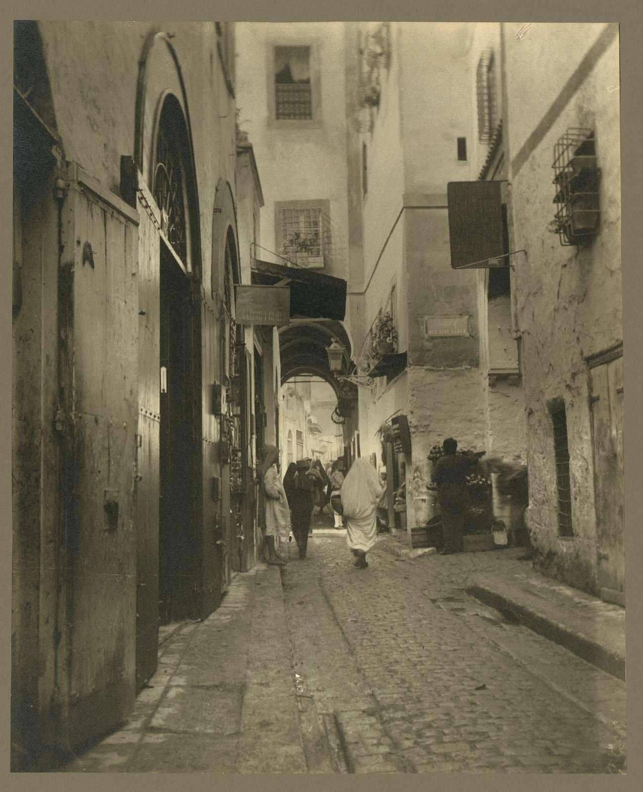 Africa. Tunis. Street scene