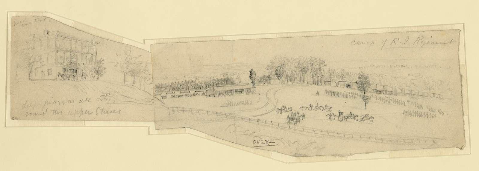 Camp of R.I. Regiment