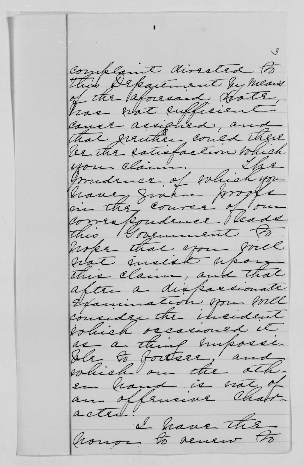 Confederate States of America records: Microfilm Reel 9