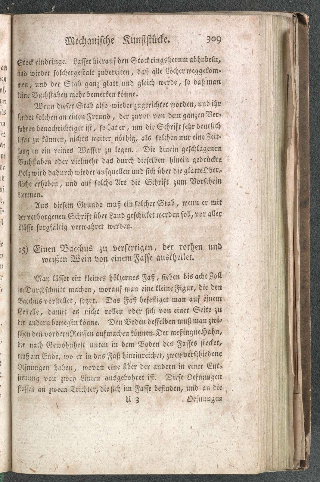 Die naturliche Magie : aus allerhand belustigenden und nutzlichen Kunststucken bestehend / zusammengetragen von Johann Christian Wiegleb.