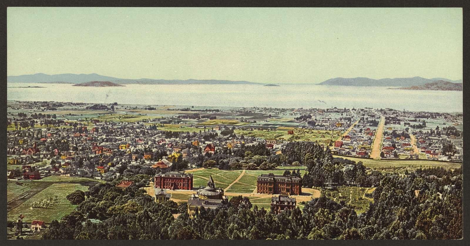 Golden Gate from Berkeley Heights