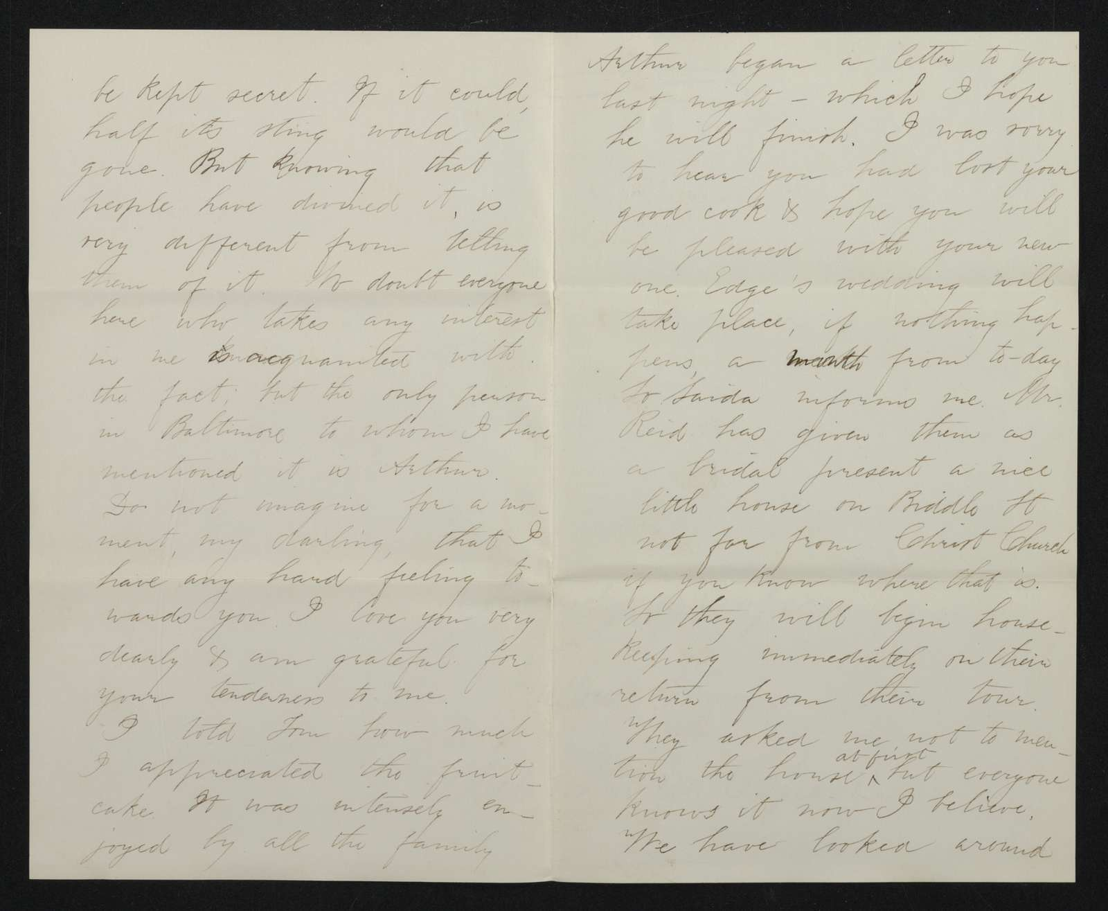 Lewis H. Machen Family Papers: Gresham Family Correspondence, 1834-1925; 1875-1877
