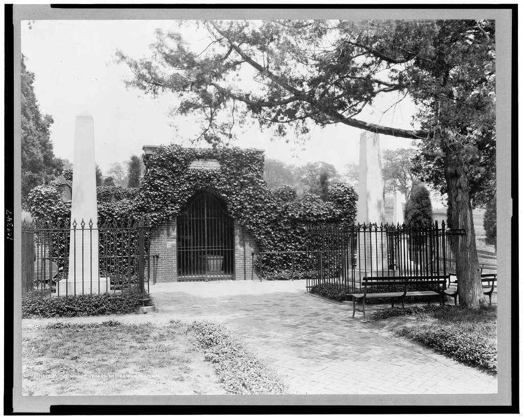 [The tomb of George Washington, Mount Vernon, Virginia]