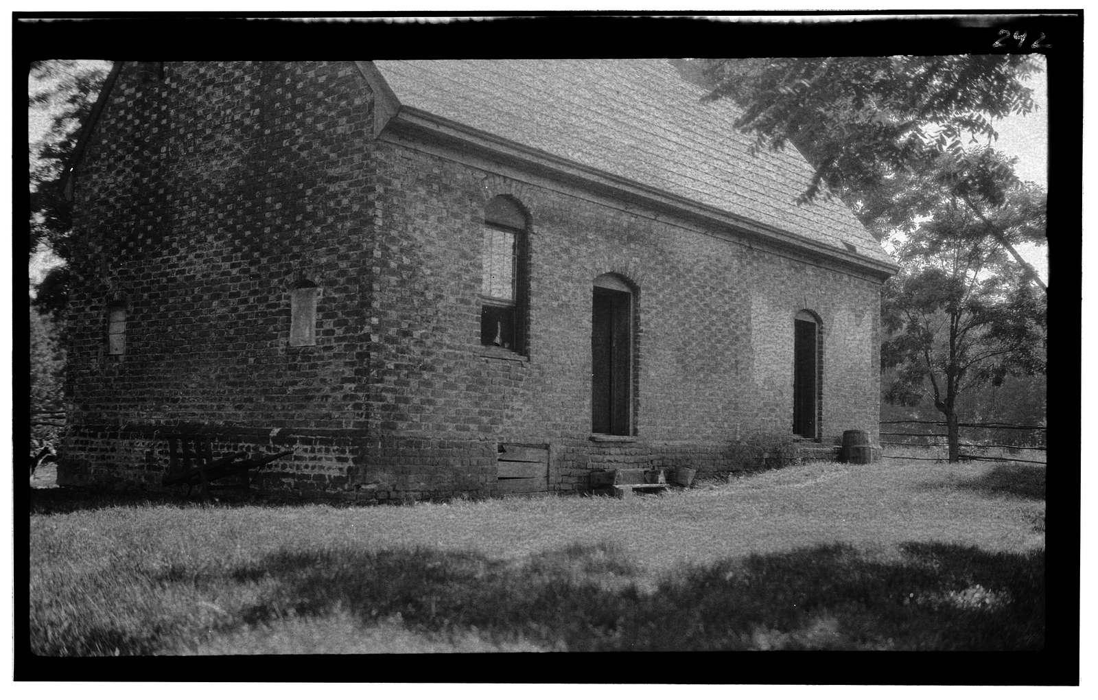 Warburton House, Pinewoods Pond vicinity, Lightfoot, James City County, VA