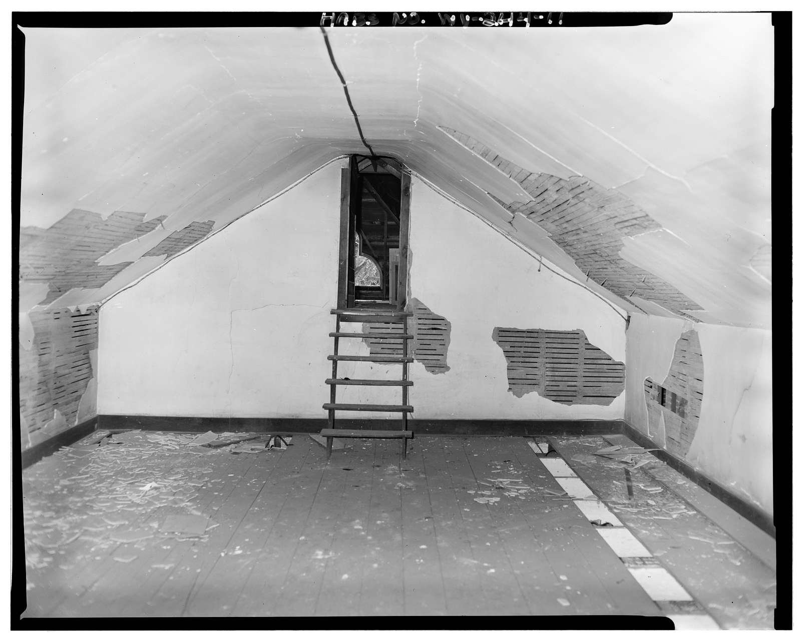 Washington Bottom Farmhouse, Allegany Ballistics Laboratory, Wiley Ford, Mineral County, WV