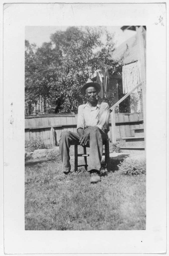 William Hamilton, ex-slave, Ft. Worth