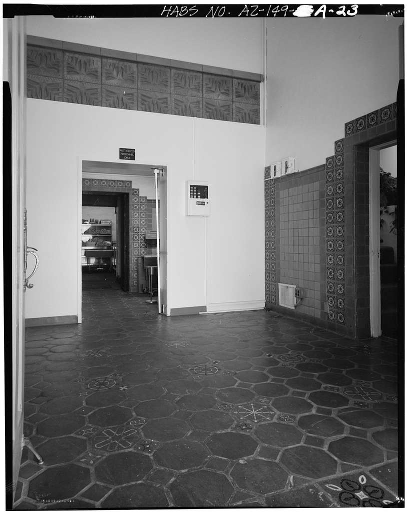 Arizona Biltmore, Bathhouse & Cabanas, Northeast Corner, Twenty-fourth Street & Missouri Avenue, Phoenix, Maricopa County, AZ