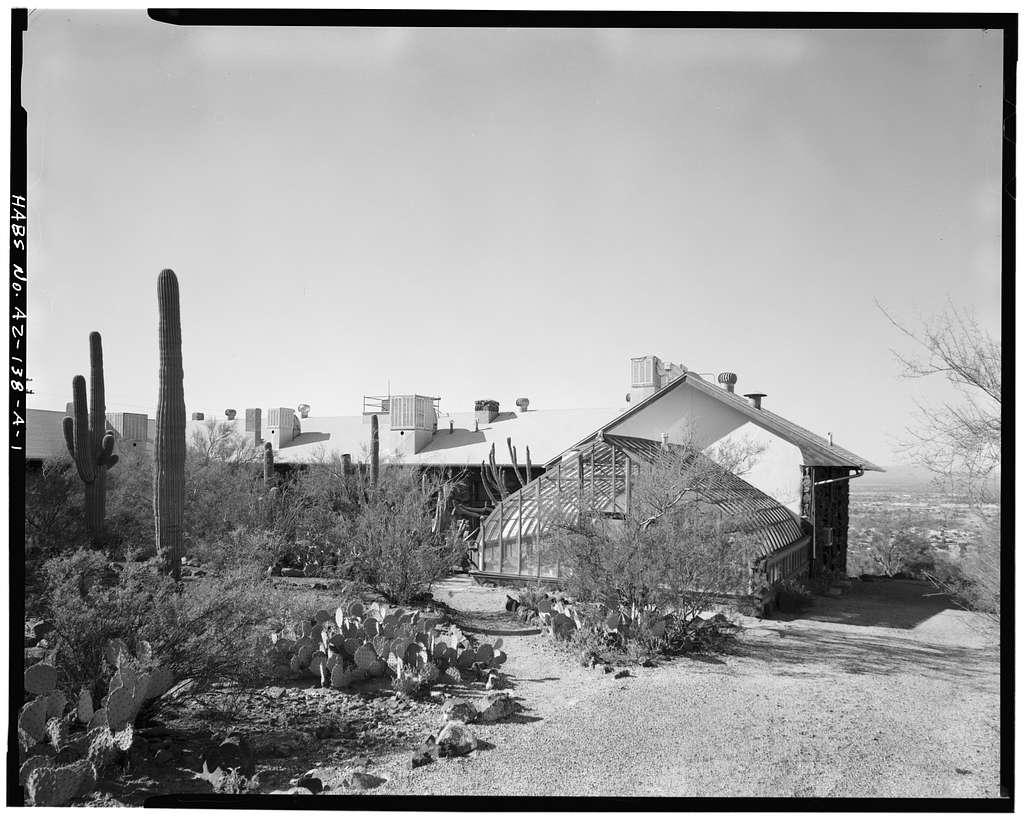 Desert Botanical Laboratory, Main Laboratory Building, Tumamoc Hill, Tucson, Pima County, AZ