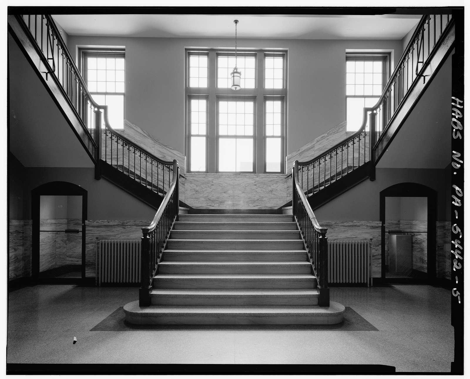 Gettysburg College, Glatfelder Hall, Old Quadrangle, West side, Gettysburg, Adams County, PA