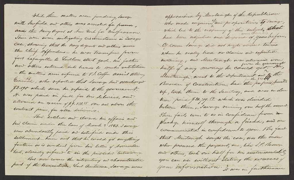 Gideon Welles Papers: Additions, 1822-1877; Addition I, 1822-1877; Correspondence; Relating to Welles, 1830-1835, 1867-1872