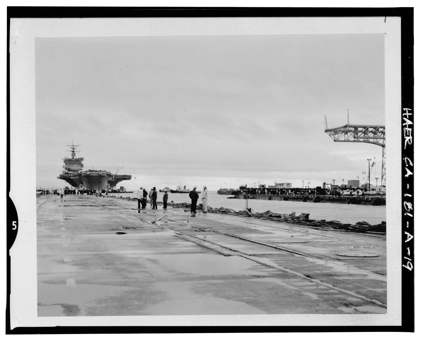 Hunters Point Naval Shipyard, Drydock No. 4, East terminus of Palou Avenue, San Francisco, San Francisco County, CA