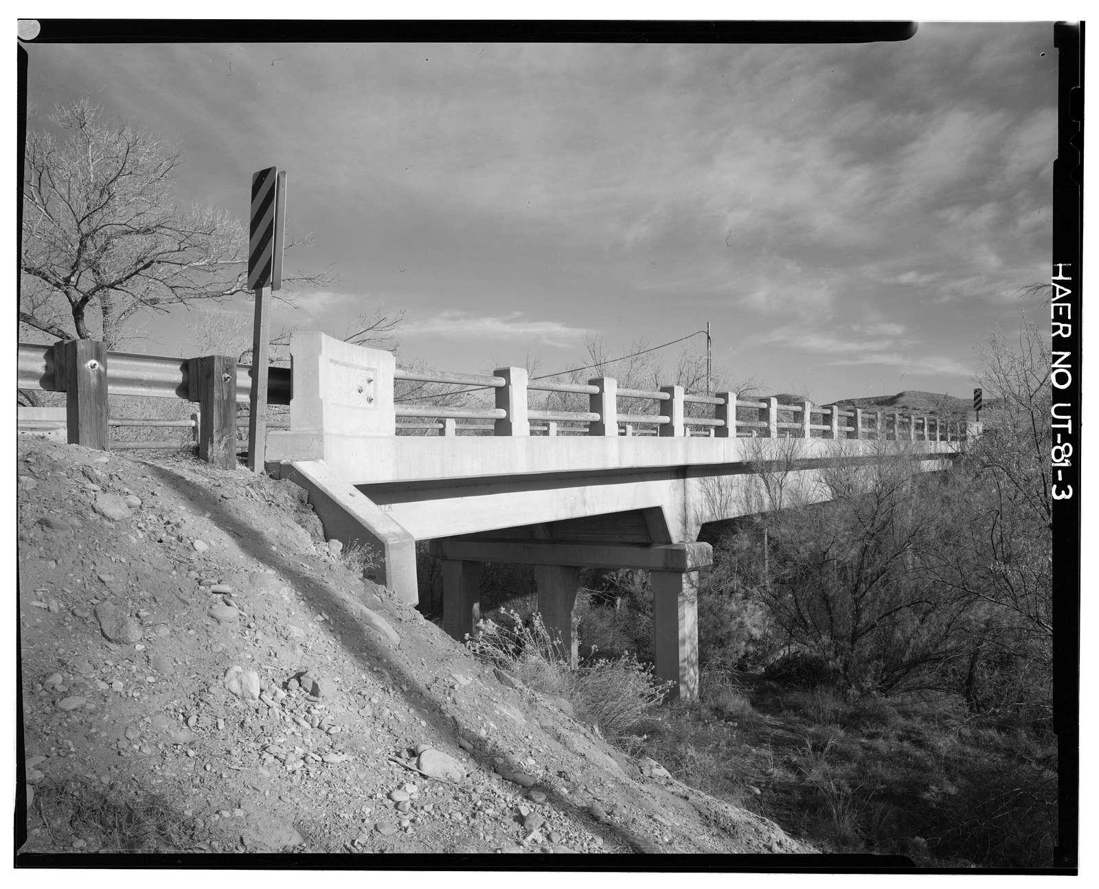 La Verkin Creek Bridge, Spanning La Verkin Creek on State Route 17, 0.7 miles northwest of La Verkin , La Verkin, Washington County, UT
