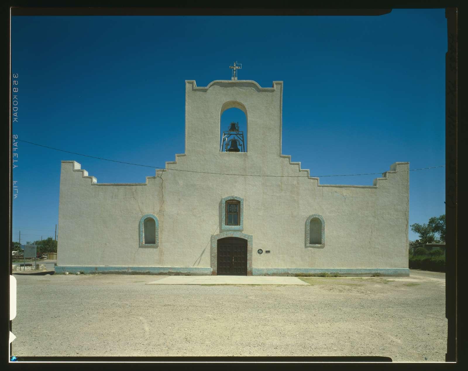 Mision Nuestra Senora del Socorro, Moon Road at Farm Road 258, Socorro, El Paso County, TX