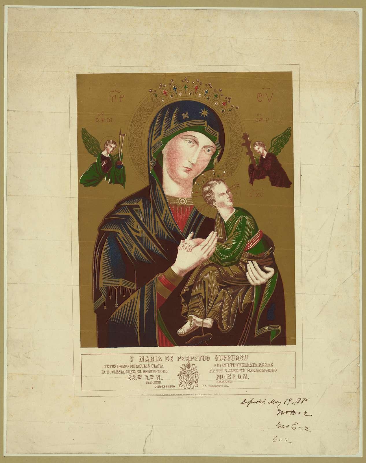 S Maria de perpetuo succurso